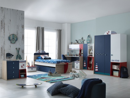 Kinderzimmer Set 8-teilig New Ocean