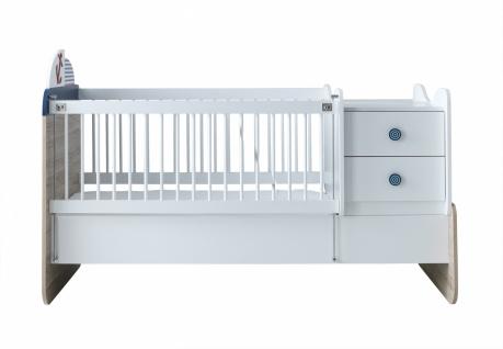 Babygitterbett mitwachsend New Ocean 70x180