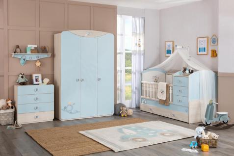 Cilek Baby Boy Babyzimmerset mitwachsend 4-teilig