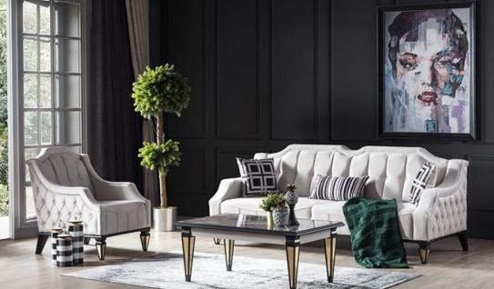 Sofa Sitzgruppe Kanyon mit Sessel und Schlafsofa