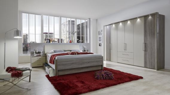 Schlafzimmerset Delina 4-teilig in Trüffeleiche - Vorschau 1