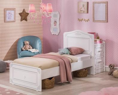 Cilek Selena mitwachsendes Babybett Weiß 75x160 - Vorschau 2