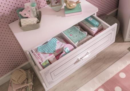 Cilek Selena Babyzimmer komplett in Weiß 5-teilig - Vorschau 3
