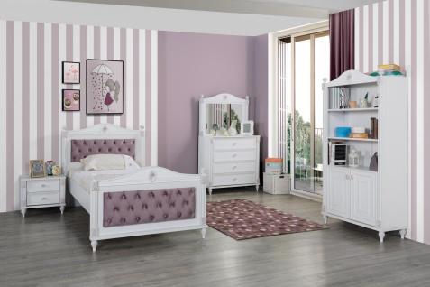 Kinderzimmer Weiß Goldi in romantischem Design 5-teilig - Vorschau 1