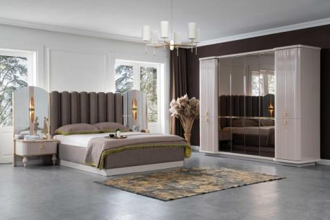 Lidya Schlafzimmer Set Pemi mit Bett in 160x200 cm