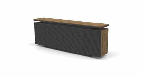 Büro Sideboard Royce Holz Optik 4-türig