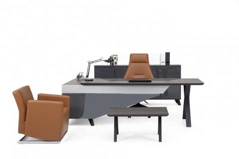 Ovali Büromöbel komplett 4-teilig Cross Rechts