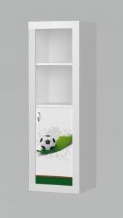 Kinderzimmer Motiv Bücherregal Phil Fußball