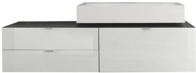 Waschbeckenunterschrank mit Waschbecken Jonte