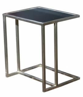 Beistelltisch Metall Esem mit MDF Tischplatte 50x56x40 - Vorschau
