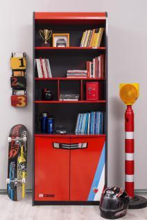 Cilek Champion Racer Bücherregal mit 6 Fächern