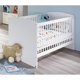 Babyzimmer MANJA 5-teilig Hochglanz weiß / alpinweiß - Vorschau 2