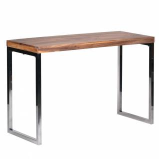 Exklusiver Massivholz Konsolentisch 120 x 45 x 76 cm Tisch Akazie Massiv