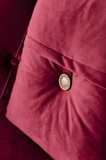 Sofa Lifa in Rot mit Dekokissen 2-Sitzer - Vorschau 3