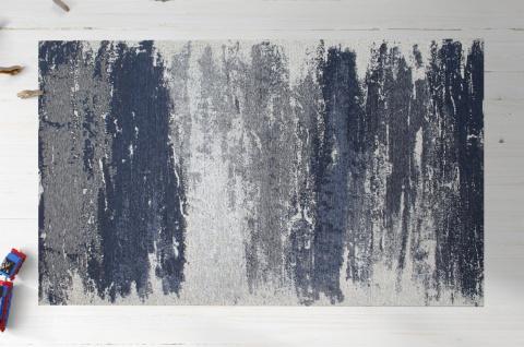 Almila Design Teppich gemustert Elegant Blue