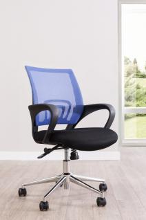 Cilek Komfort Drehstuhl mit blauer Rücklehne