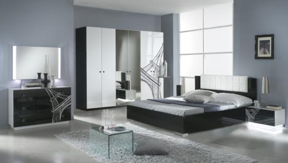 Design Schlafzimmer Vinzent mit 6-türigem Schrank