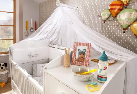 Cilek Baby Cotton Betthimmel Weiß mit Sternen