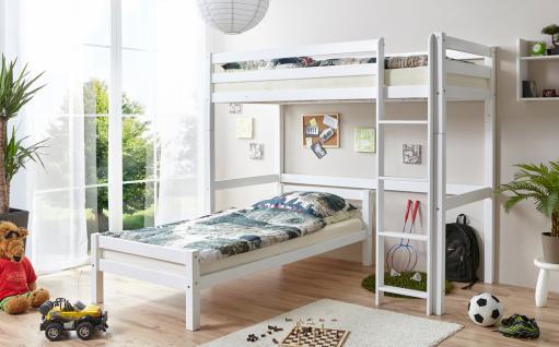 Etagenbett Julian : Kinderzimmer mit hochbett luxus etagenbett set julian in buche