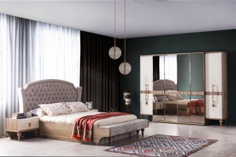 Schlafzimmer Set Beyoglu mit Stauraumbett in 180x200