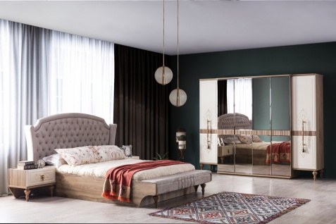Weltew Schlafzimmer Beyoglu in 160x200 cm