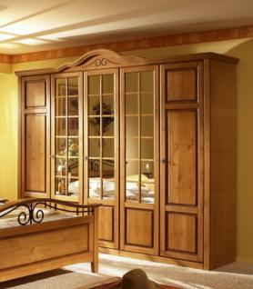 Kleiderschrank Joana in Pinie Honig 4 Türen