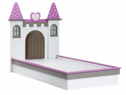 Almila Mädchen Kinderbett Prinzessin Castle 100x200
