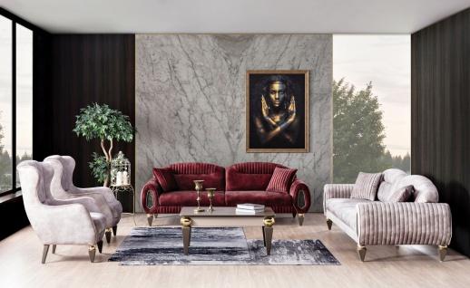 Couch Garnitur 4-teilig Lizbon mit Schlafsofas