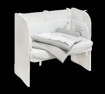 Cilek Cradle Baby Beistellbett in Weiß 46x80