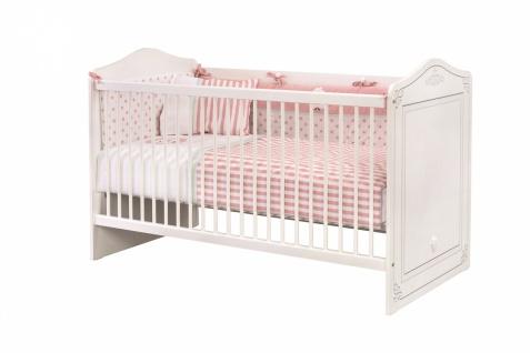 Cilek Selena Babybett in Weiß 75x140