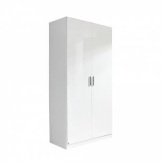 Drehtürenschrank CELLE weiß / alpinweiß 91 x 210 x 54 cm