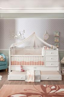 Cilek Romantic Baby Bett mitwachsend mit Ausziehbett - Vorschau 2