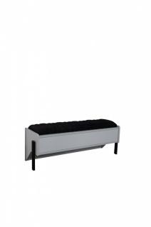 Sitzbank Dynamic mit Stauraum aufklappbar 120 cm