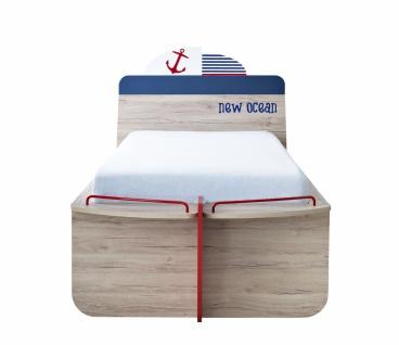 Kinderbett mit Bettschubkasten New Ocean