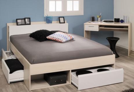 Parisot Most Bett mit Schreibtisch Liegefläche 140x200