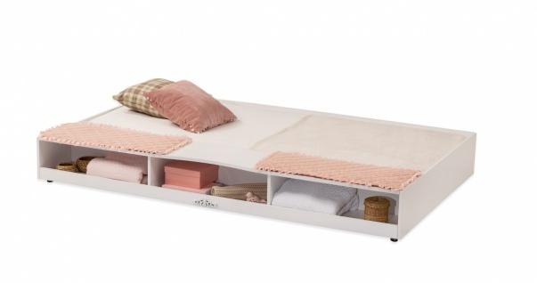 Cilek Romantica Ausziehbett Bettkasten Weiß