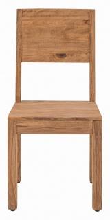 Esszimmerstuhl aus massivem Holz Sanam
