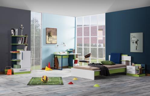Kinderzimmer Fußball-Design Pancho 4-teilig