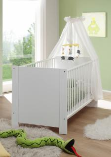 Babybett Rory 70x140 cm in Weiß