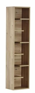 Design Bücherregal in warmer Holz Optik Origami