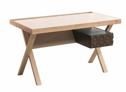 Cilek Lofter Schreibtisch in Holz Optik