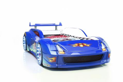Autobett Fivex mit Vollfunktion in Blau