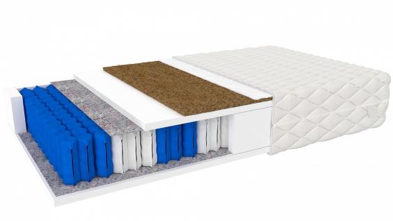 Taschenfederkernmatratze Ferag mit Kokos 100x200