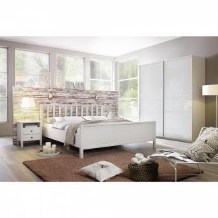 Komplett-Schlafzimmer MARIT II (4-teilig) 140er Bett / 181er Schrank