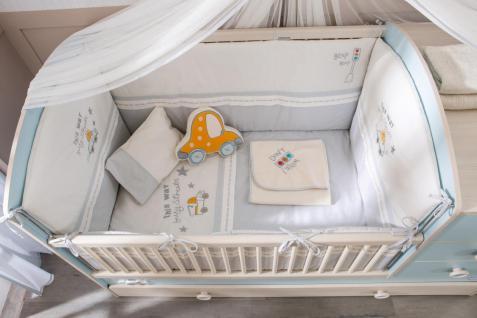 Cilek Baby Boy Bettwäschese 8-teilig in S