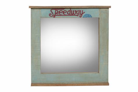 Spiegel mit Rahmen Avias aus Altholz mit Ablage