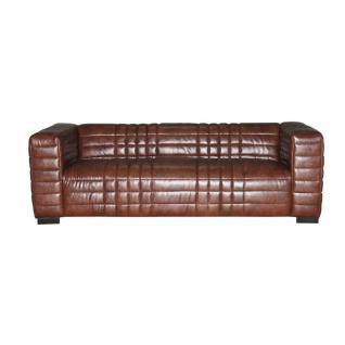 Sofa SIT4Sofa braun 220 x 91 x 66 cm