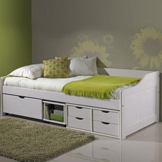 Doli Sofabett 90x200 mit Lattenrost Weiß - Vorschau