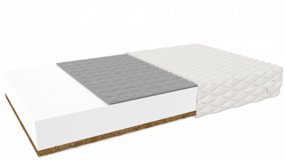 Baby Komfort Matratze mit Buchweizen 70x140