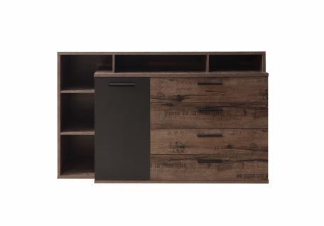 Sideboard Jackson 1-türig in modernem Design